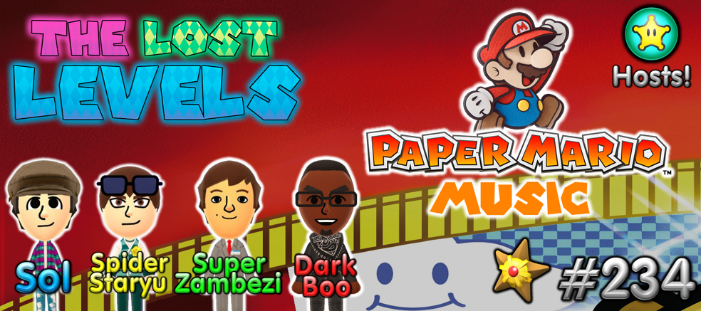 Episode 234 – Paper Mario Music | The Lost Levels – A